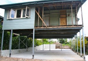 Nundah House Raise and Build in underneath including rear extension photos - 1